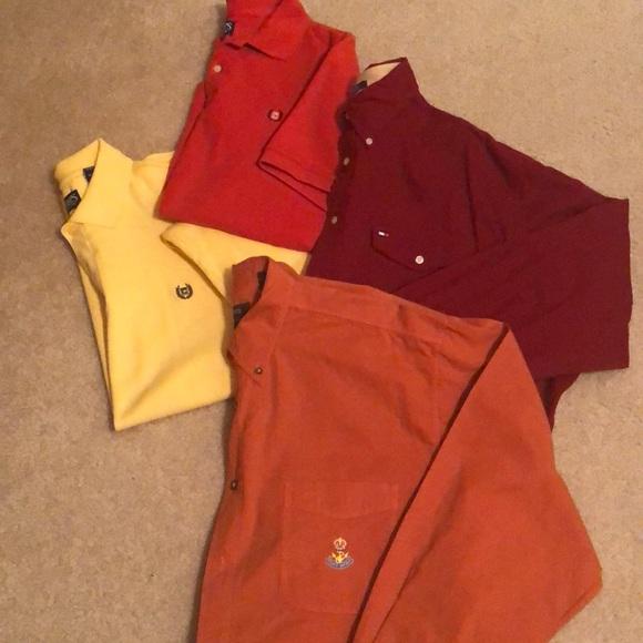 Chaps Other - 4️⃣ XL Men's Shirt Bundle
